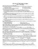 Bài tập về nhà Sóng cơ học
