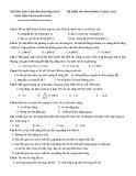 Đề kiểm tra phần Sóng cơ học lần 2 - Trường THPT chuyên Phan Bội Châu
