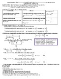 Tài liệu ôn tập Vật lí 12 Chương 3: Sóng cơ
