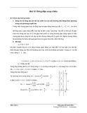 Bài 12: Dòng điện xoay chiều