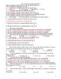 Bài tập trắc nghiệm Chương 4: Điện xoay chiều