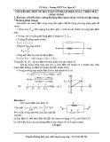 Chuyên đề: Một số bài toán về mạch điện xoay chiều mắc song song