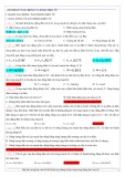 Luyện thi Vật lí Chương 4: Dao động và sóng điện từ