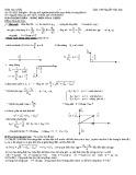 Bài tập trắc nghiệm phần Điện xoay chiều và sóng điện từ
