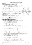 Tóm tắt lí thuyết và bài tập trắc nghiệm: Chương 5 - Dòng điện xoay chiều