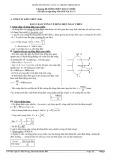 Hướng dẫn ôn tập Vật lí 12 chương trình chuẩn Chương 3: Dòng điện xoay chiều