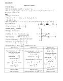 Lý thuyết và bài tập Điện xoay chiều