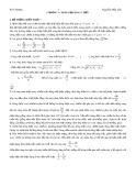 Bài tập chương 5: Dòng điện xoay chiều