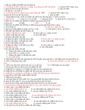 Bài tập Nhiễm sắc thể và đột biến nhiễm sắc thể