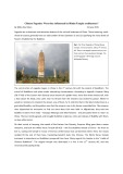 Chinese Pagodas: Were they influenced by Hindu Temple architecture?