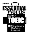 Ebook 600 Essential Words for the TOEIC