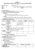 Giáo án Tin học Lớp 11 Bài 1: Khái niệm về lập trình và ngôn ngữ lập trình