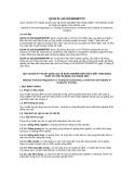 Quy chuẩn kỹ thuật Quốc gia QCVN 01-122:2013-BNNPTNT