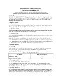 Quy chuẩn kỹ thuật Quốc gia QCVN 01-27:2010-BNNPTNT