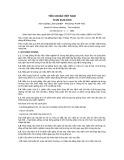 Tiêu chuẩn Việt Nam TCVN 3122:1979