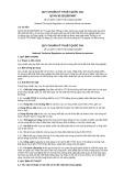 Quy chuẩn kỹ thuật Quốc gia QCVN 30:2012/BTNMT