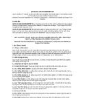 Quy chuẩn kỹ thuật Quốc gia QCVN 01-129:2013/BNNPTNT