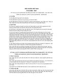 Tiêu chuẩn Việt Nam TCVN 2080:2007