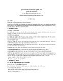 Quy chuẩn kỹ thuật Quốc gia QCVN 06:2011/BTC