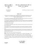 Thông tư số: 04/2012/TT-BNNPTNT trùng