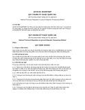 Quy chuẩn kỹ thuật Quốc gia QCVN 58:2014/BTNMT