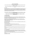 Quy chuẩn kỹ thuật Quốc gia QCVN 50:2013/BTNMT