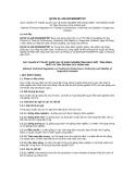 Quy chuẩn kỹ thuật Quốc gia QCVN 01-125:2013-BNNPTNT