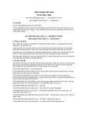 Tiêu chuẩn Việt Nam TCVN 7036:2008