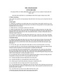 Tiêu chuẩn ngành 10 TCN 386:1999