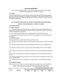 Quy chuẩn kỹ thuật Quốc gia QCVN 05:2013/BTNMT