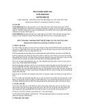Tiêu chuẩn Quốc gia TCVN 9459:2012