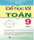 Để học tốt toán 9 (tập 2): phần 1