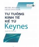Ebook Tư tưởng kinh tế kể từ Keynes: Phần 1