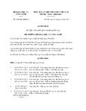 Quyết định số: 4244/QĐ-BKHCN