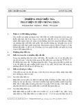 Tiêu chuẩn ngành 10 TCN 332-1998