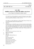 Tiêu chuẩn Việt Nam TCVN 5620:1991