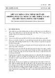 Tiêu chuẩn ngành 14 TCN 132-2005