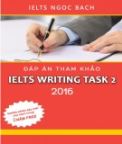 Ebook Đáp án tham khảo IELTS writting task 2 2016
