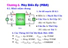 Bài giảng Kỹ thuật điện: Chương 6 - Nguyễn Kim Đính