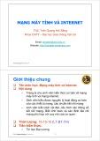 Bài giảng Mạng máy tính và internet: Giới thiệu chung - ThS. Trần Quang Hải Bằng