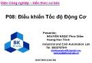 Bài giảng Bảo trì hệ thống điện trong công nghiệp: Phần 8 - Nguyễn Ngọc Phúc Diễm, Trịnh Hoàng Hơn