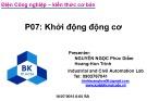 Bài giảng Bảo trì hệ thống điện trong công nghiệp: Phần 7 - Nguyễn Ngọc Phúc Diễm, Trịnh Hoàng Hơn