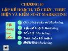 Bài giảng Marketing căn bản: Chương 10 - ThS. Nguyễn Văn Trưng