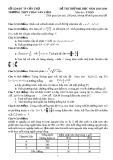 10 đề thi thử THPTQG môn Toán của Cần Thơ