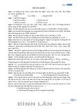 Bài tập cơ bản Oxit