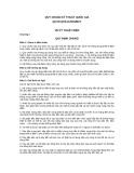Quy chuẩn kỹ thuật Quốc gia QCVN QTD 8:2010/BCT