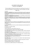 Quy chuẩn Kỹ thuật Quốc gia QCVN 01-65:2011/BNNPTNT