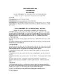 Tiêu chuẩn Quốc gia TCVN 8494:2010