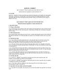 Quy chuẩn Kỹ thuật Quốc gia QCVN 03:2015/BCT