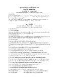 Quy chuẩn kỹ thuật Quốc gia QCVN 16:2008/BTNMT